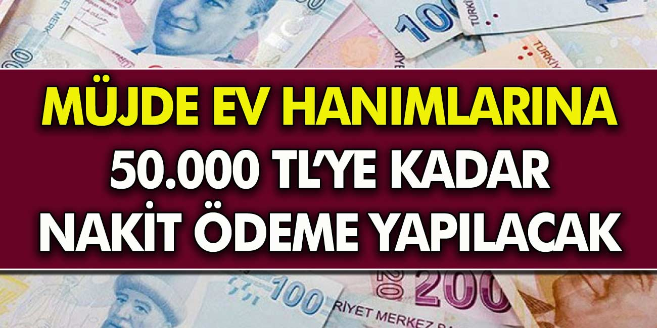 Son Dakika Haberi: Ev hanımlarına çok güzel haber Akbank ve Denizbank ihtiyaç kredisi veriyor...
