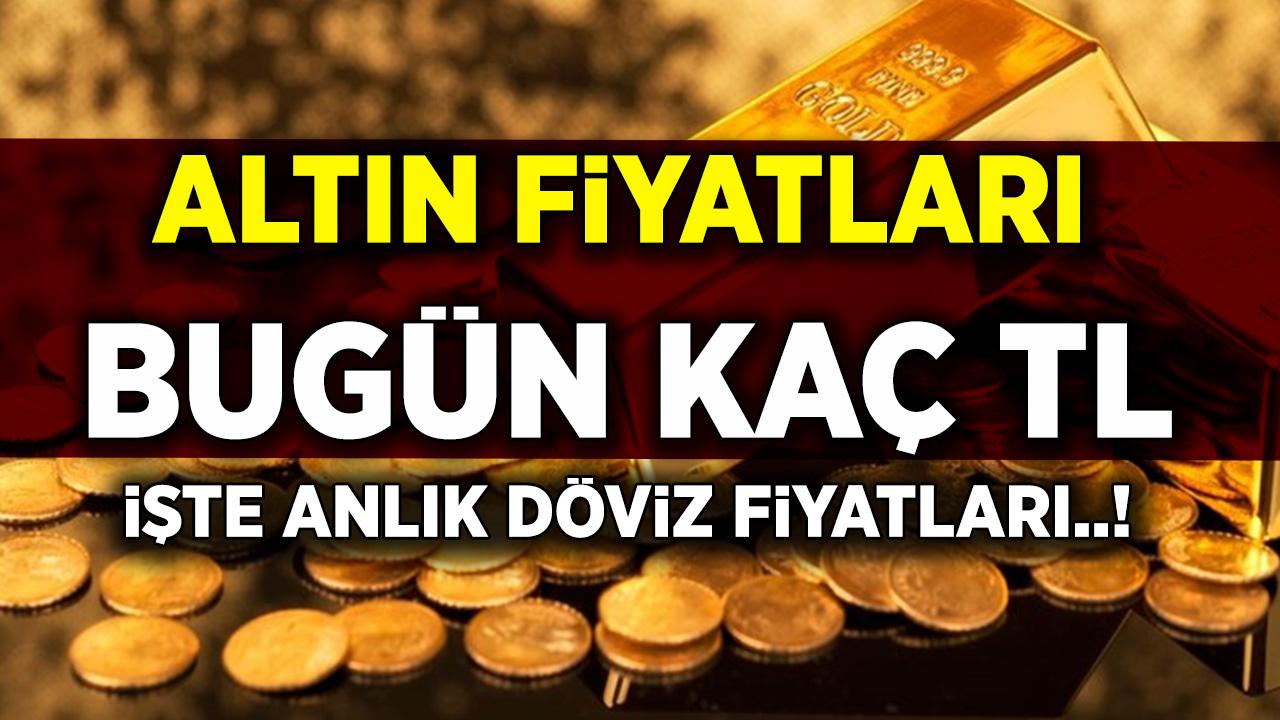 Altın fiyatları bugün gram altın, çeyrek altın, cumhuriyet, yarım, tam altın fiyatı ne kadar?