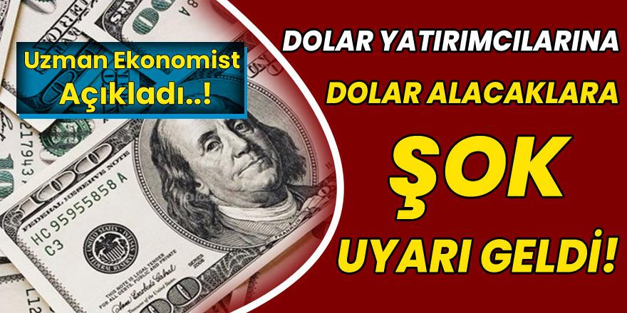 Elinde Doları Olanlar Ve Dolar Alacaklar İçin Şok Uyarı! Dolar Düşecek Mi Yükselecek mi? Uzman İsim Açıkladı..!