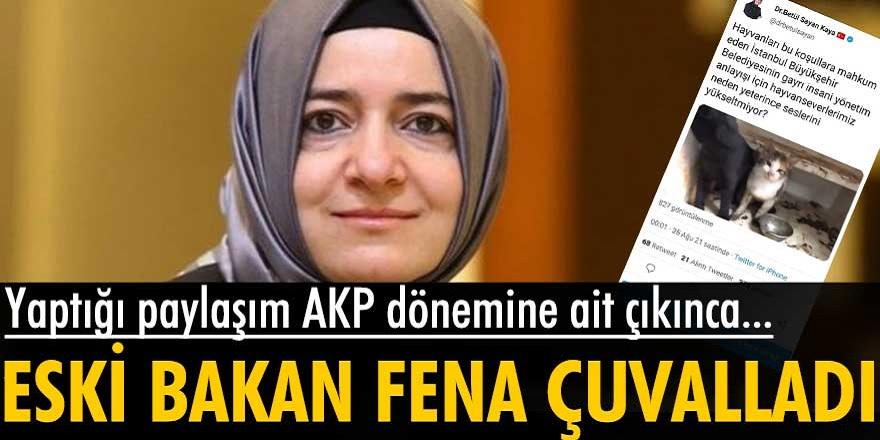 AKP'li Fatma Betül Sayan Kaya, AKP'nin foyasını ortaya çıkardığı paylaşımı silmek zorunda kaldı