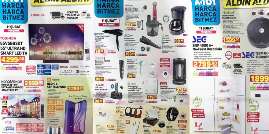 A101 Markette İndirim Üstüne İndirim! 11 Şubat A101 Aktüel Kataloğu Yayınlandı! O Katalogda Neler Var Neler?
