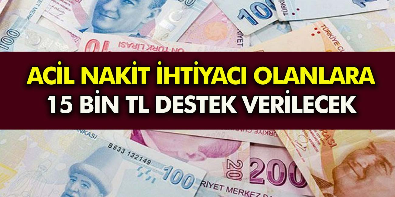 O bankalardan 15 bin TL kredi müjdesi! Geliri olmayan vatandaşlara bile verilecek… Hemen Başvurun