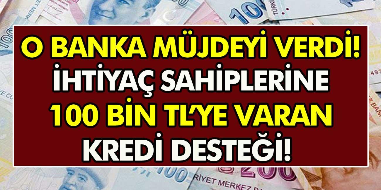 Milyonlarca Vatandaşa Garanti Bankası'ndan müjde! İhtiyaç Sahiplerine 100 bin TL'ye varan kredi desteği!