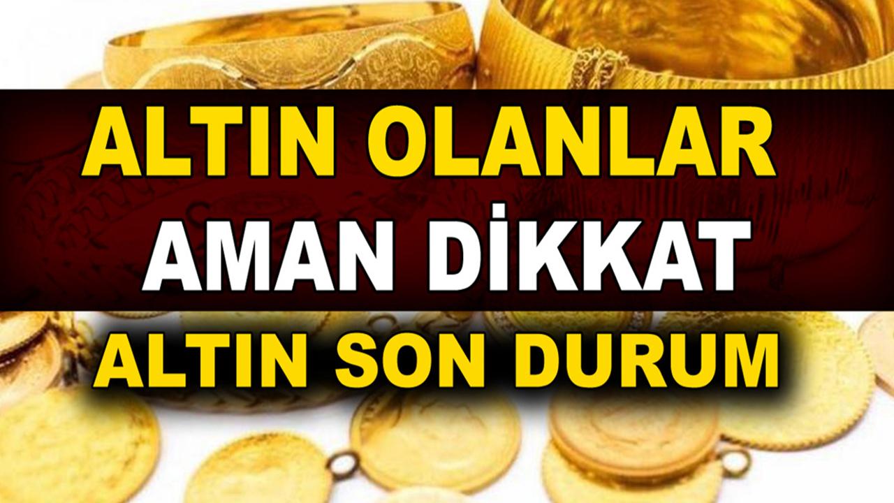 İslam Memiş'ten bomba altın tahmini geldi! Gram altın fiyatı 600 TL! Altın alınmalı mı, satılmalı mı?