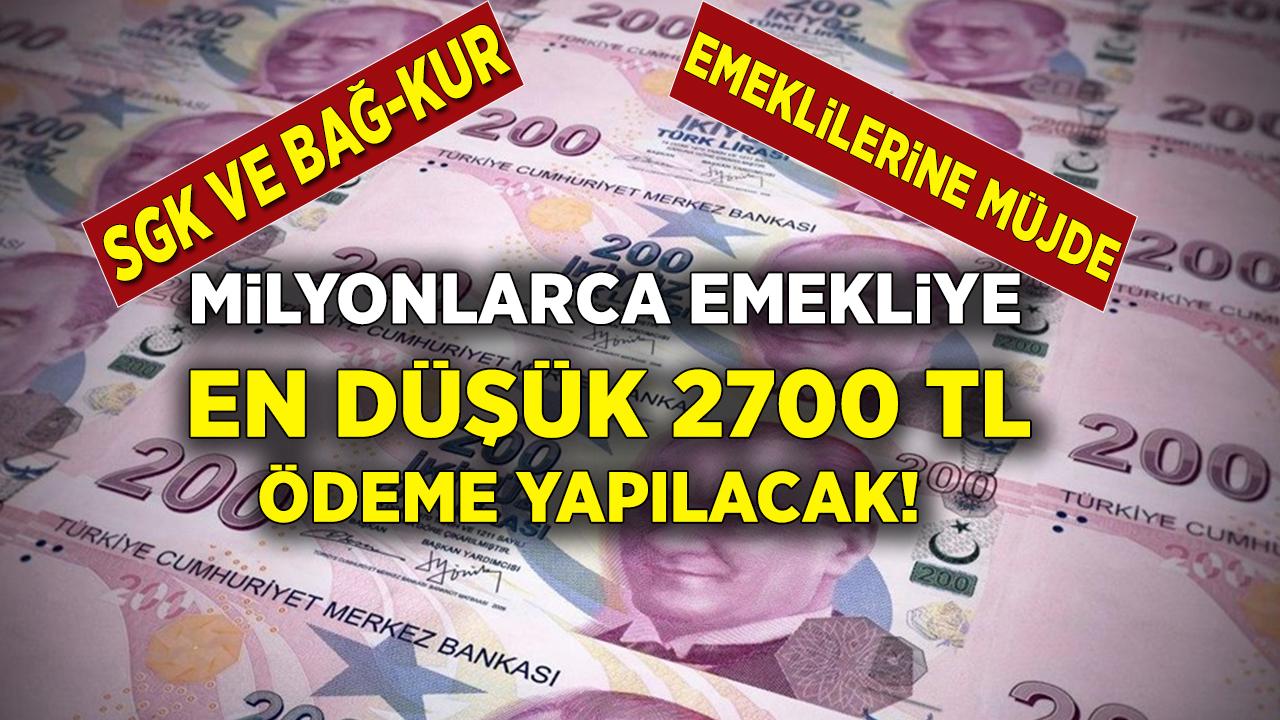 SGK, SSK ve Bağkur Emeklilerine 2 bin 750 TL ödeme yapılıyor! Başvuran bütün emeklilerin hesabına anında yatırılıyor....