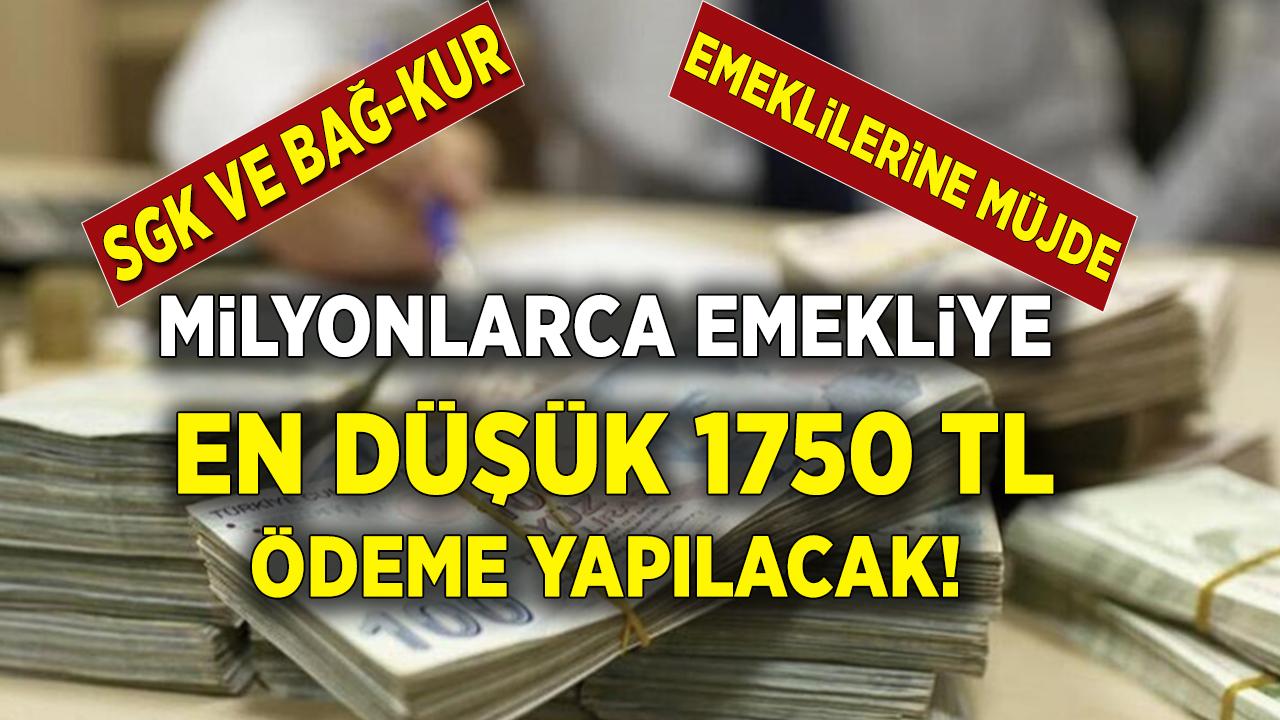 SGK, Bağkur, SSK Emeklilerine müjde üstüne müjde! Başvuran herkese ATM'den anında 1.750 TL Ödeme yapılacak...