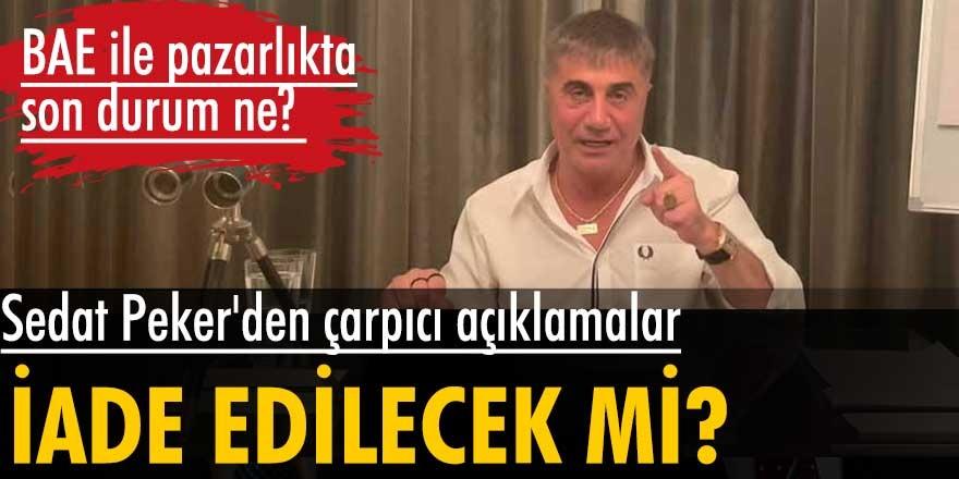 Sedat Peker, gazeteci İsmail Saymaz'a çok konuşulacak açıklamalarda bulundu! Belki başka bir ülkeye geçebilirim