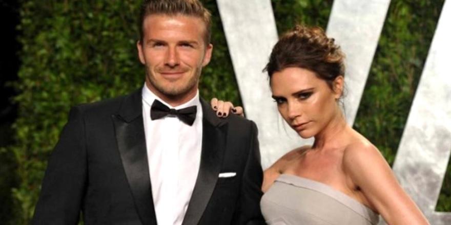 Efsane futbolcu David Beckham'ın eşi Victoria Beckham, David Beckham'ın kalçasını paylaştı...