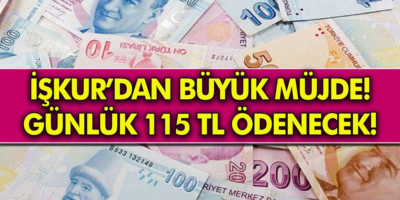 Herkesin Hesabına Günlük 115 TL Ödeme Yapılacak! İŞKUR'dan o meslekleri öğrenenlere maddi destek sağlanıyor!
