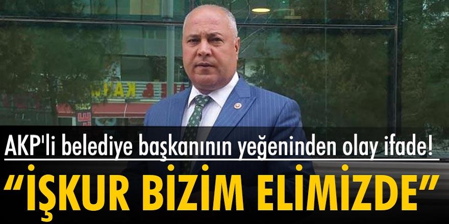 AKP'li belediye başkanının yeğeni torpille bir arkadaşını İŞKUR üzerinden işe aldırmaya çalıştığı ortaya çıktı!
