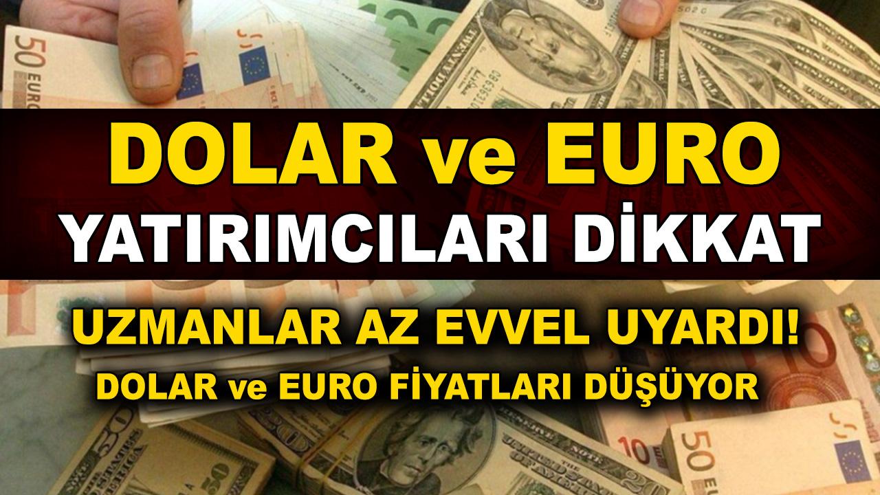 Dolar euro yarımcıları dikkat! Dolar fiyatları düşüşe geçti! Dolar ne kadar oldu, euro kaç TL?
