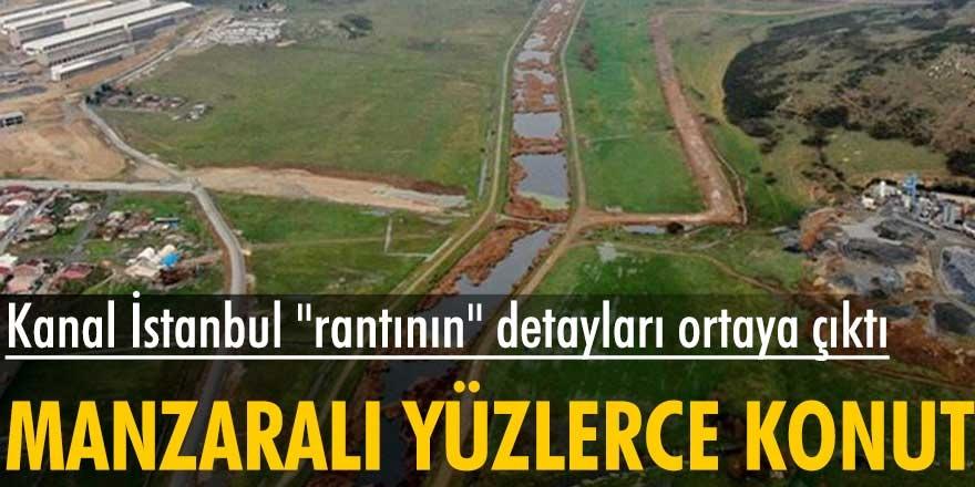 Kanal İstanbul'un güzergâhında sessiz sedasız ihalesine çıktığı konut projesinin ikinci etabının detayları belli oldu...