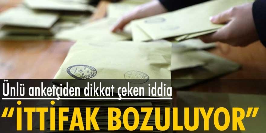 MetroPOLL Araştırma Şirketi Başkanı Özer Sencar'dan Cumhur İttifakı'na kötü haber! İttifak bozuluyor...