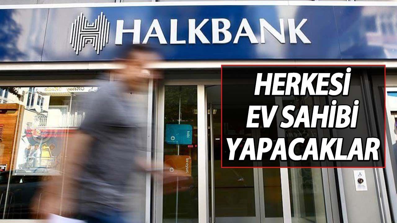 Halkbank Adeta Çıldırdı Her Şeyi Satışa Çıkardı: 2+1, 3+1 ve 4+1 Evler Peynir Ekmek Gibi Satılıyor! İşte Detaylar...