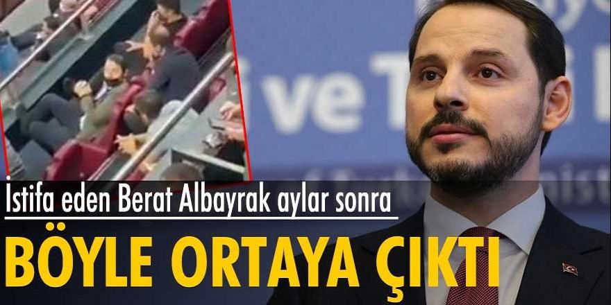 Hazine ve Maliye Bakanlığı görevinden istifa eden Berat Albayrak aylar sonra görüntüleri ortayay çıktı...