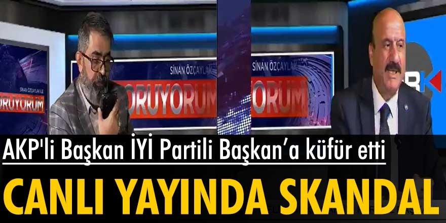 AKP'li Erzurum Büyükşehir Belediye Başkanı, canlı yayında skandala imza attı! İYİ Partili Melih Kırkpınar'a küfür etti