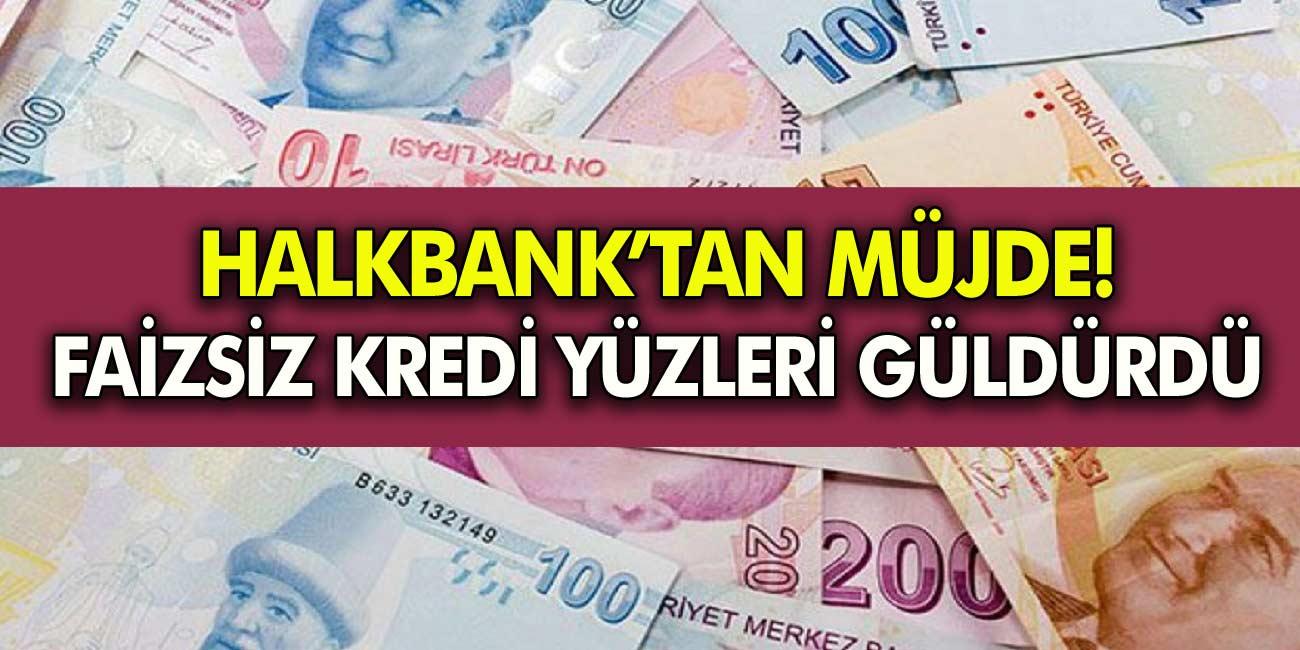 Halkbank'tan Bu Meslek Grubuna Destek Bitmiyor! Siz de Faizsiz 200 Bin TL'nizi Hemen Alabilirsiniz!