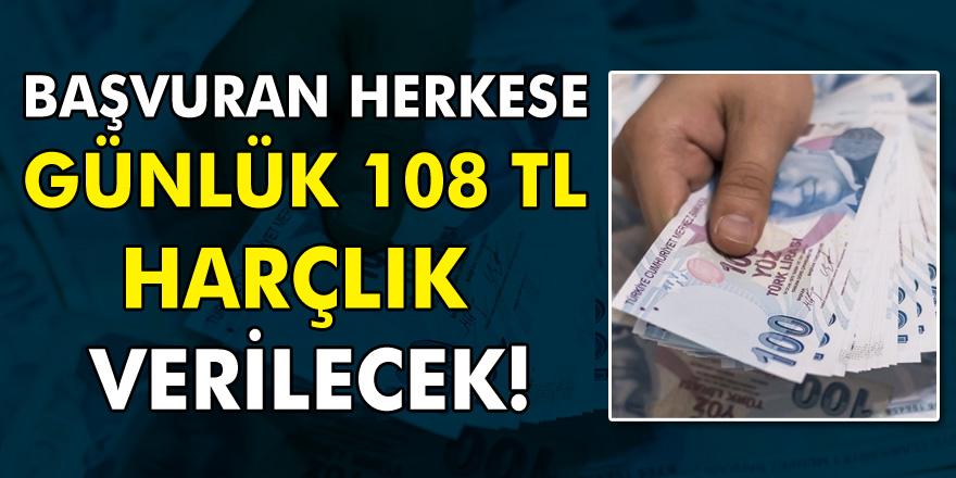 İŞKUR'dan büyük fırsatlar! Günlük 108 TL Harçlık Ödeme Yapılacak…