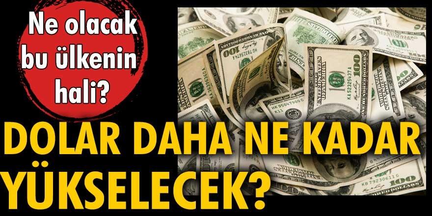 Dolar fiyatları bugün fırladı! Doları olan yaşadı! Türk lirasındaki değer kaybı devam ediyor...