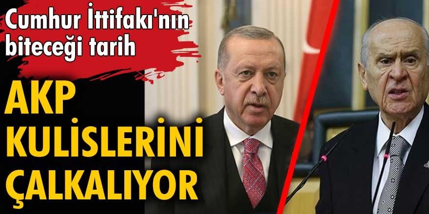 Ankara kulislerinde Cumhur İttifakı'nın biteceği iddiaları ile çalkalanıyor...