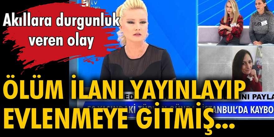 50 yaşındaki aranan Türkan Günday, Müge Anlı ile Tatlı Sert programında ortaya çıktı...