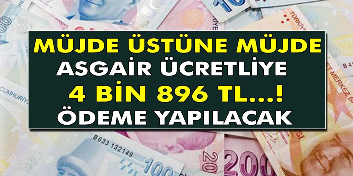 Müjde Üstüne müjde geldi! Çalışan herkes çok merak ediyordu ve tek tek açıklandı! Asgari ücretlinin cebine en az 4.896 TL girecek...