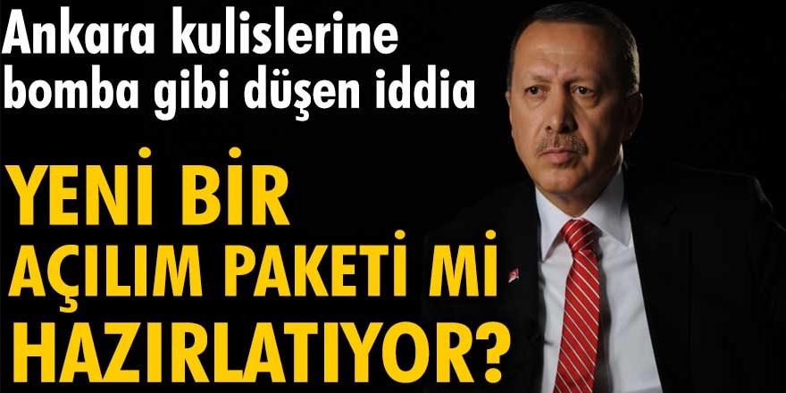 Ankara'yı sarsan bomba iddia! Erdoğan yeni bir açılım paketi mi hazırlatıyor?
