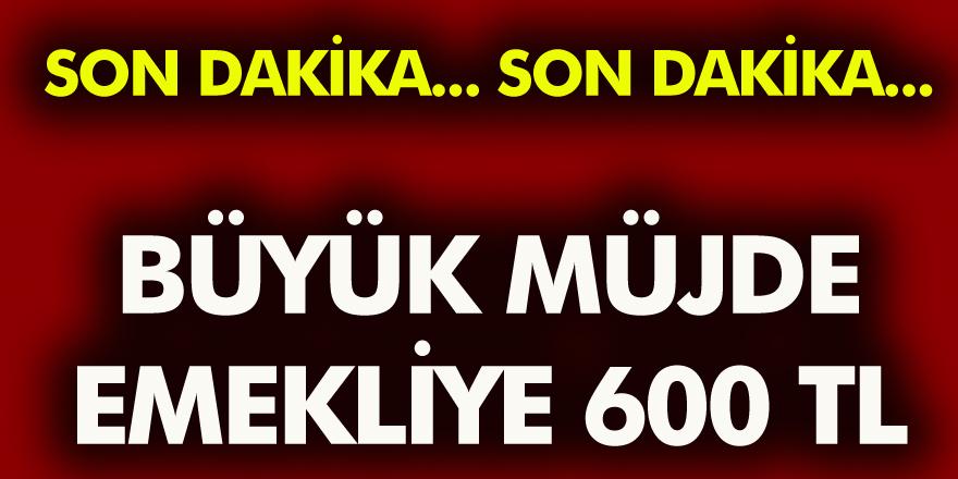 Son Dakika: Milyonlarca Emekli Vatandaşlara Müjde 600 TL Zam! İşte Detaylar...