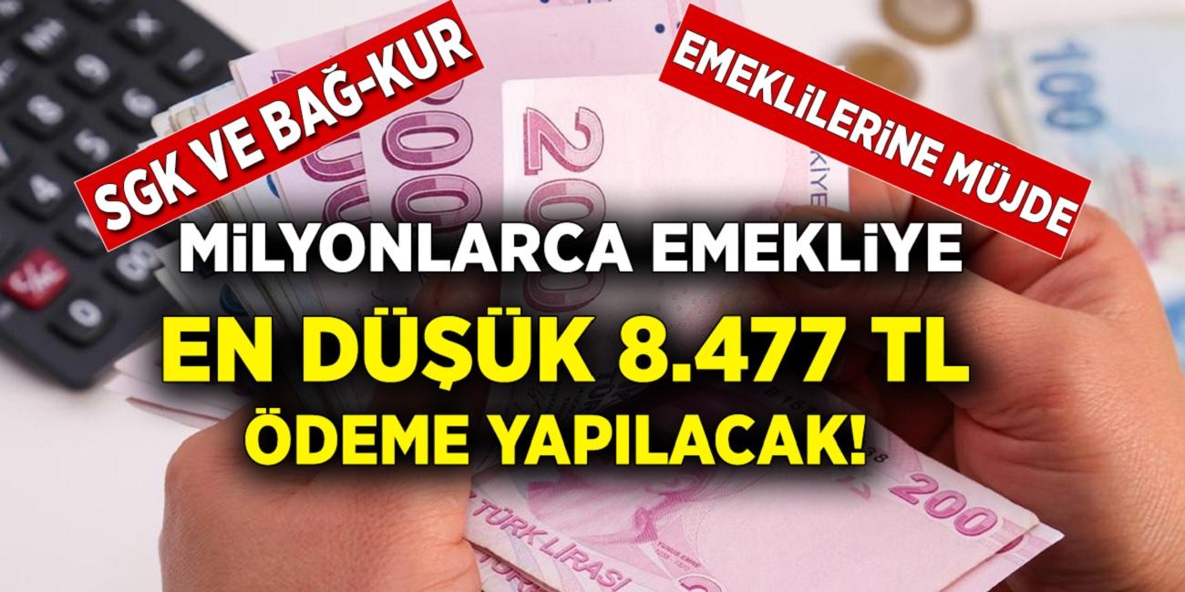 SGK'dan gelen son dakika müjdesine göre! SGK, SSK, Bağ-Kur'lulara 8.477 TL toplu para ödemesi yapılacak! Başvurular başladı aman gecikmeyin...