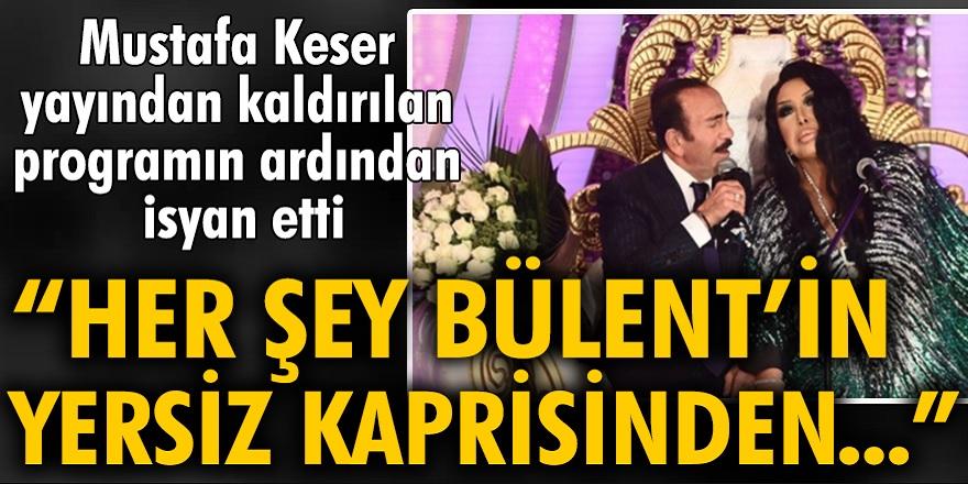 Benzemez Kimse Bize programının yayın ömrü kısa sürdü! Mustafa Keser, Bülent Ersoy'a ateş püskürdü! Bülent Ersoy'un yersiz kapris ve tutumundan kaynaklanmıştır...