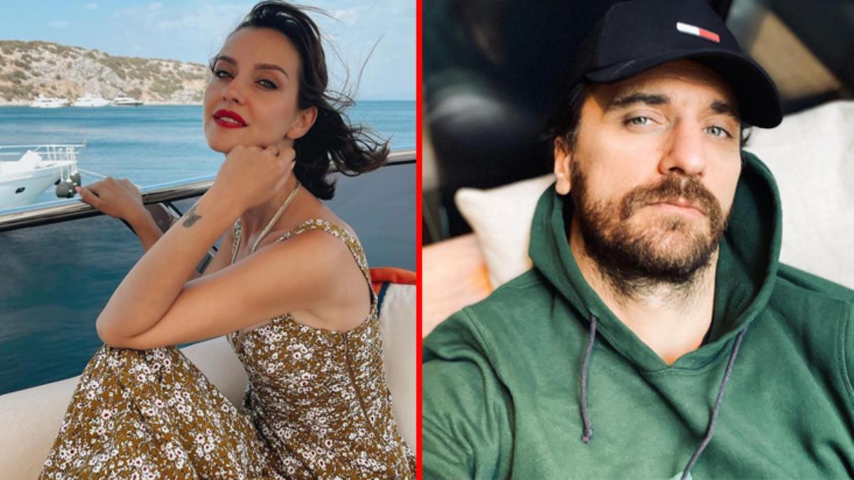 Güzel oyuncu İrem Helvacıoğlu, Fırat Çelik'te birlikte olduğu ortaya çıktı