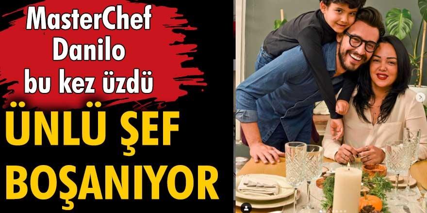 MasterChef'in İtalyan şefi Danilo Zanna 9 yıllık eşi Tuğçe Demirbilek'ten boşanıyor...