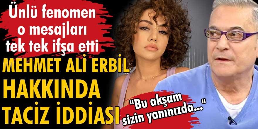 Sosyal medya fenomeni Ece Ronay, Mehmet Ali Erbil'e ateş püskürdü...
