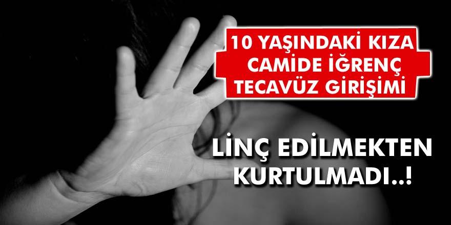 İnegöl'de İğrenç Taciz Girişimi! 10 Yaşındaki Kıza Tecavüz Etmeye Girişti, Cemaat Tarafından Linç Edildi...
