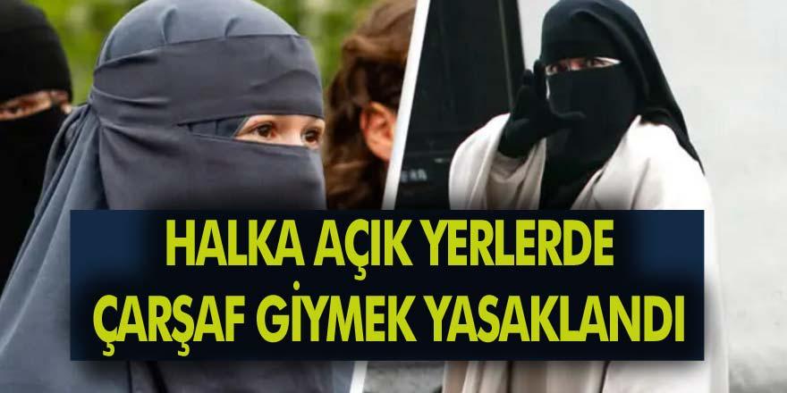 İsviçre, Müslüman Kadınların Halka Açık Yerlerde Çarşaf Giymesini Yasaklıyor!