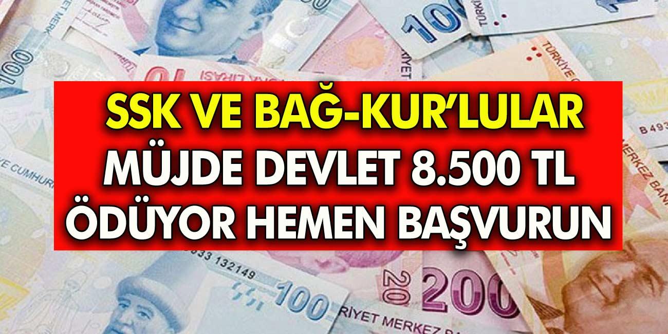 SSK, Bağ-Kur'lulara Emeklilik için yaşını bekleyenlere müjde! 8.500 TL Değerinde Nakit avans verilecek!