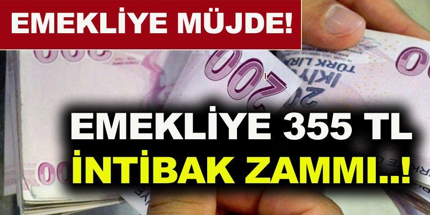 Çalışma Bakanlığı Milyonlara Müjdeyi Verdi! Emekli Vatandaşların Maaşlarına 355 TL İntibak Zammı Geldi!