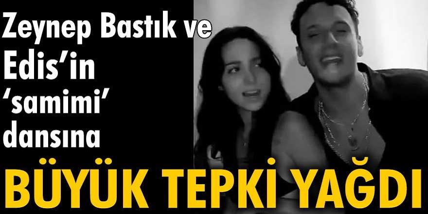 Zeynep Bastık'ın Edis'le samimi dansı, medyayı ayağa kaldırdı! İşte Zeynep Bastık'ın evli olmasına rağmen aşırı samimi halleri...