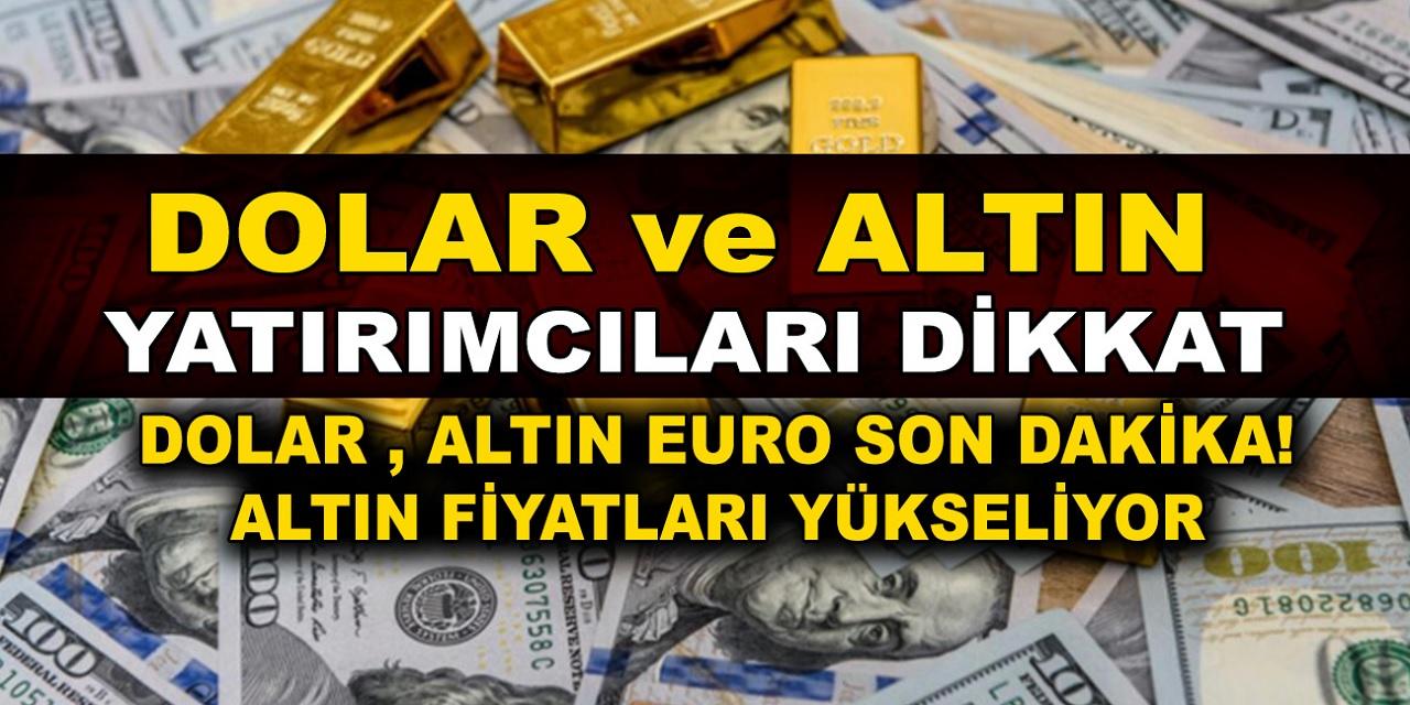 Son dakika Dolar 9.04'ü görerek en yüksek zirvesine çıktı! İslam Memiş'ten dolar ve altın için kritik tahmin geldi...