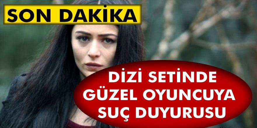 Masumiyet dizi setinde meydana gelen olay yok artık dedirtti! Ünlü oyuncu Deniz Çakır'a suç duyurusu…