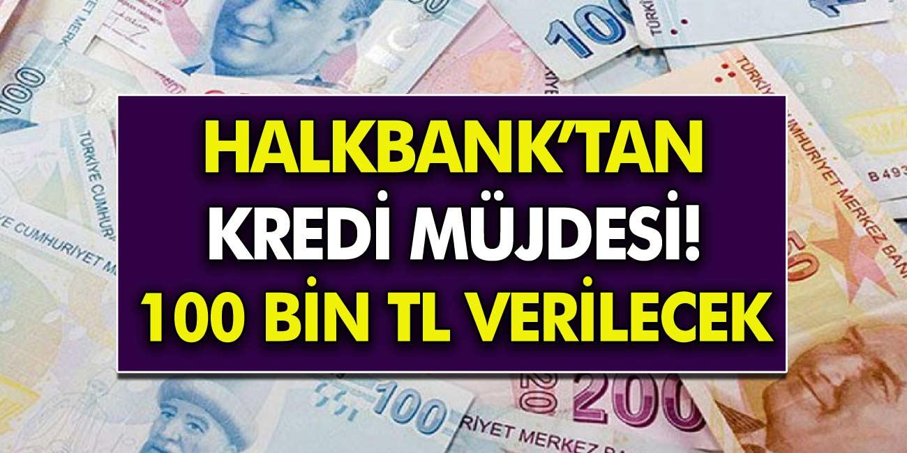 Halkbank'tan SGK'lı Olan Herkese Kredi Müjdesi! 36 Ay Vadeli ile 100 bin TL Krediye İlgi Büyük Var!