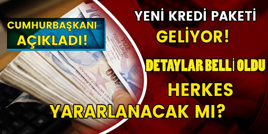 Recep Tayyip Erdoğan Duyurdu! Yeni Kredi Paketi Geliyor: Detaylar Belli Oldu….