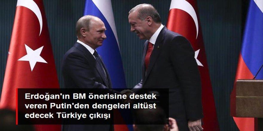 """""""Erdoğan haklı"""" diyen Rusya Devlet Başkanı Vladimir Putin'den BM çıkışı: Türkiye daimi üye olabilir batı bizim evimize sızmaya çalışmasın"""