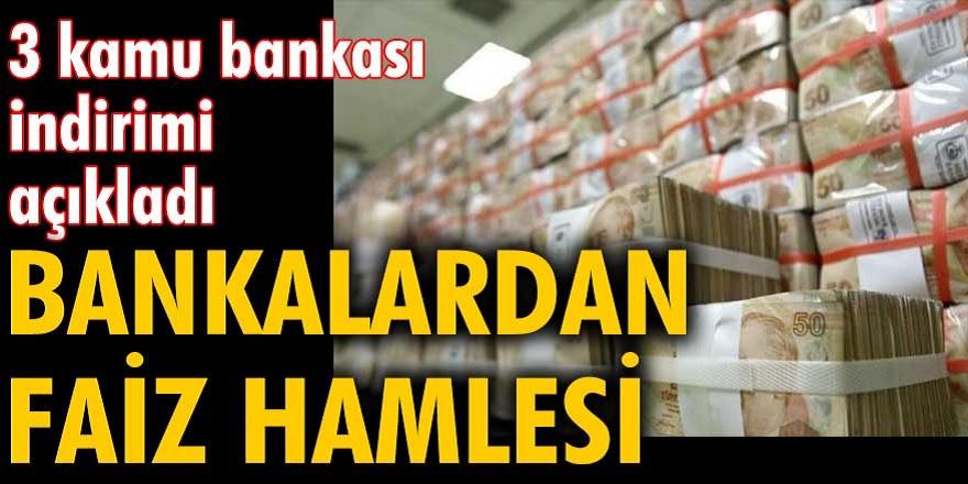 Ziraat Bankası, Vakıfbank ve Halkbank anlaştı! Düşük faizle herkese kredi müjdesi geldi...