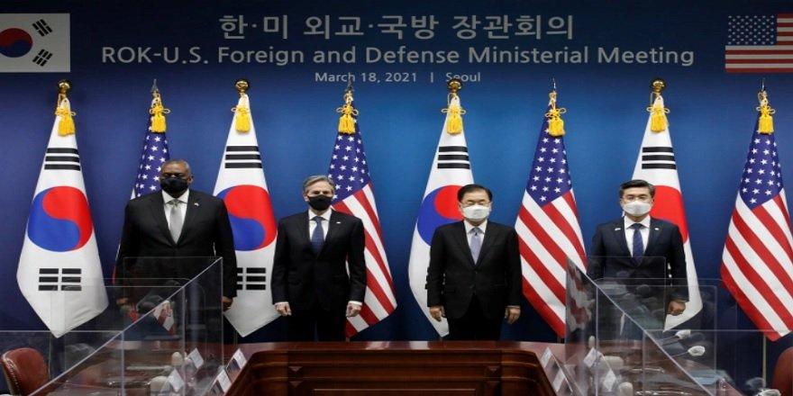 Dışişleri Bakanı Blinken, Çin'den Kuzey Kore'yi nükleer silahlardan vazgeçirin uyarısı