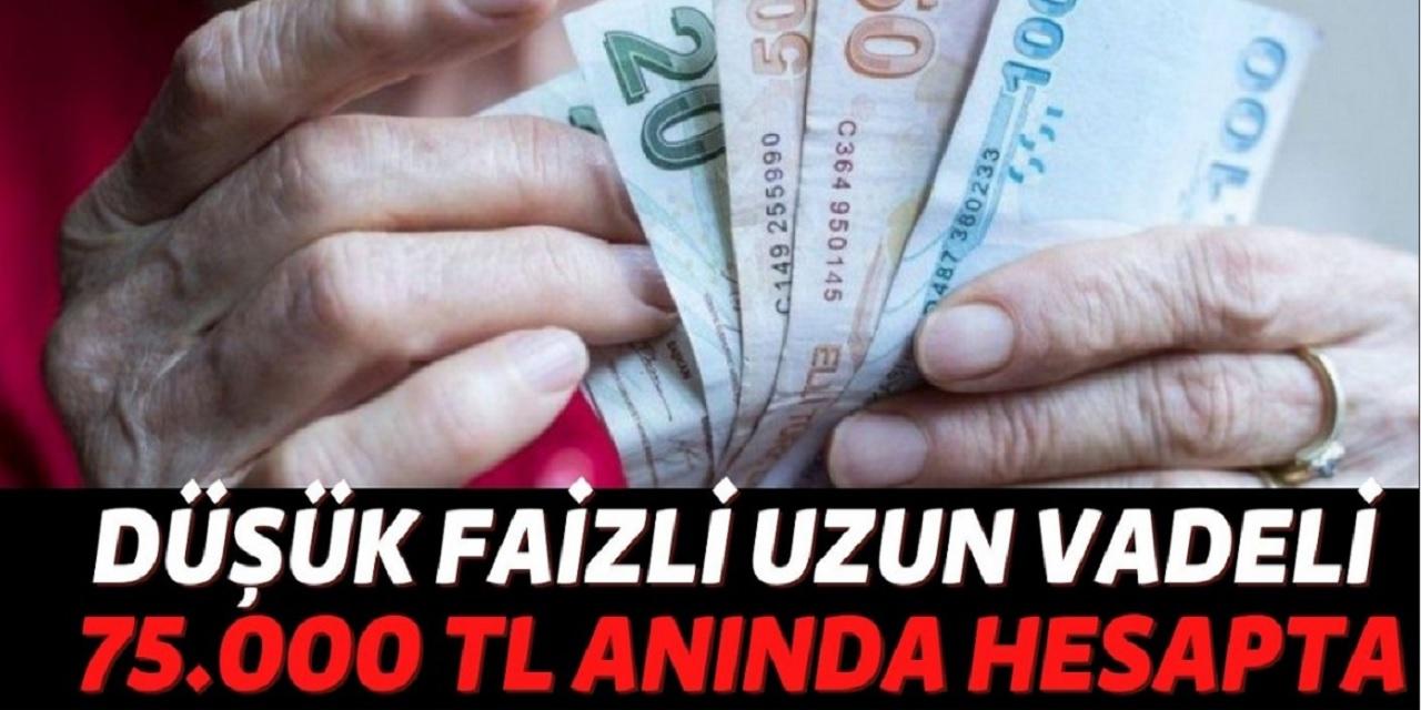 Nakit ihtiyaci olanlara Türkiye İş Bankası, Vakıfbank ve TEB bankaları 75.000 TL kredi verecek! Düşük faizle görülmemiş  kredi imkanı...