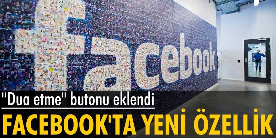 """Sosyal medya deviFacebook'ta süper güncelleme!  Artık """"dua etme"""" butonu açık..."""