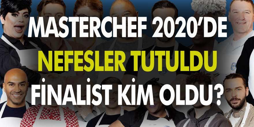 MasterChef 2020'de Nefesler Tutuldu! İlk finalist aday Serhat!
