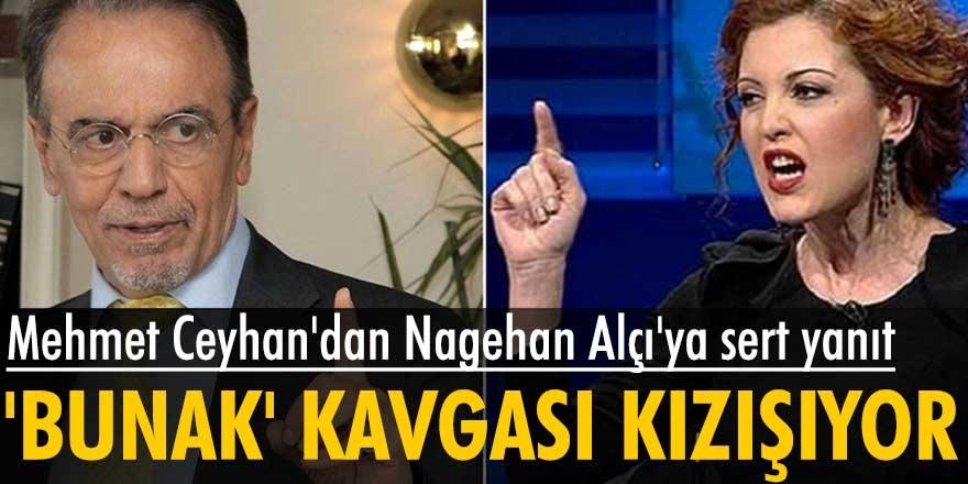 Mehmet Ceyhan, Nagehan Alçı arasındaki 'bunak' kavgası kızışıyor! Ceyhan, Alçı'nın ifadelerine tepki gösterdi...