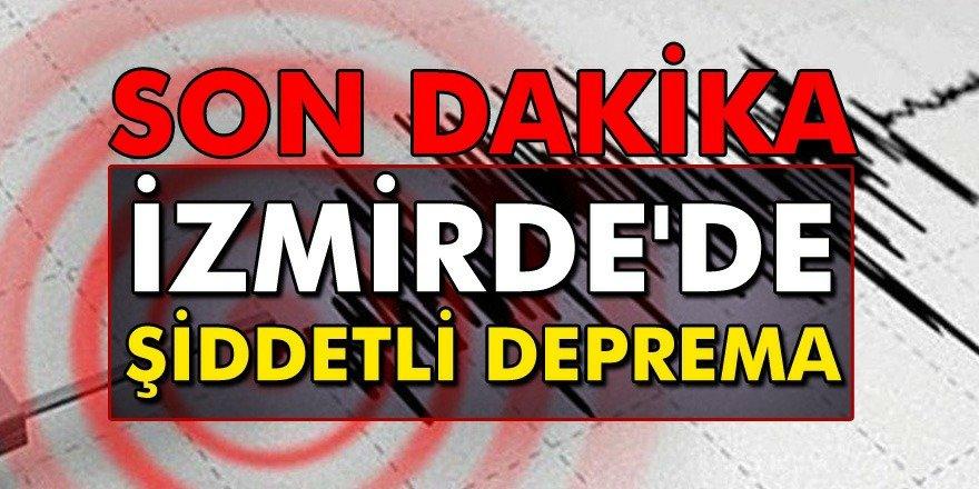 Son Dakika Türkiye beşik gibi sallanıyor İstanbul Ve İzmir'de Şiddetli Deprem Oldu